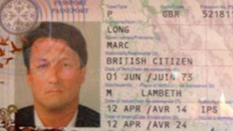 Acklom changed his name to Marc Long by deed poll