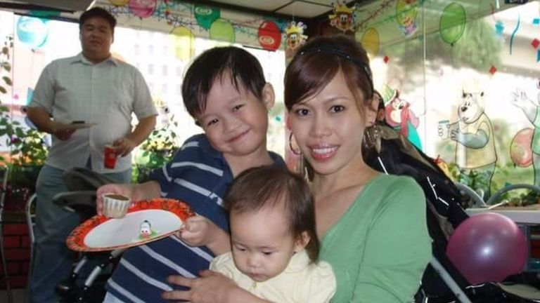 Christine Tan was married and had children