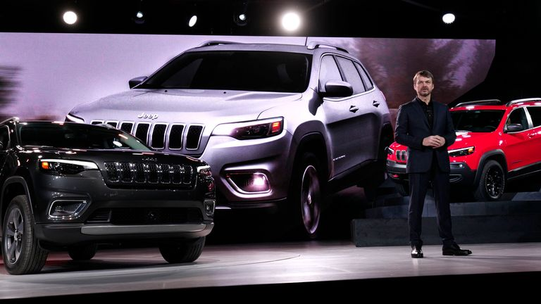 Bedfordshire-born Mike Manley has quadrupled Jeep's sales during his first six years at the helm
