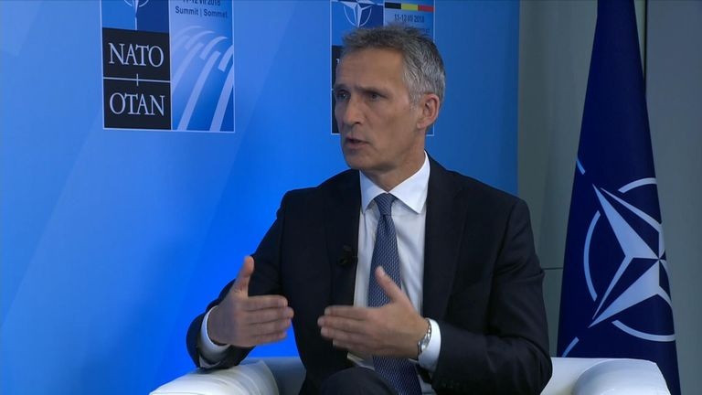 Jens Stoltenberg says there are 'new threats and new challenges'