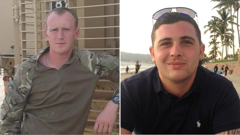 Corporals Darren Neilson and Matthew Hatfield, both of the Royal Tank Regiment, died in their Challenger 2 at the Castlemartin firing ranges on June 14 2017.