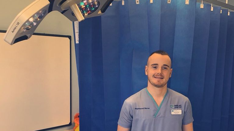 David Ferran - I feel valued and invested in as an NHS employee