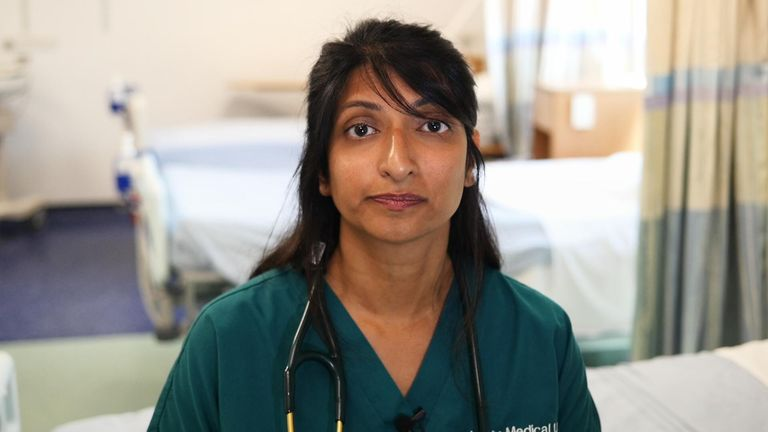 Dr Elora Mukherjee, West Middlesex University Hospital