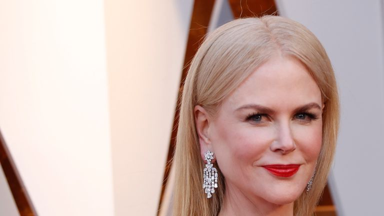 Nicole Kidman takes on an action role - by her family pool