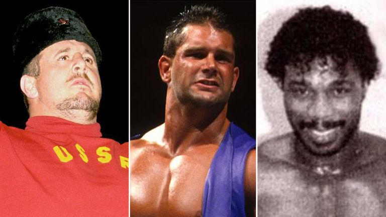 L/R: Nikolai Volkoff, Brian Lawler and Brickhouse Brown. Pics: WWE