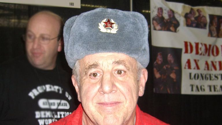 Volkoff was an iconic villain within WWE. Pic: Luigi Novi/Wikimedia Commons