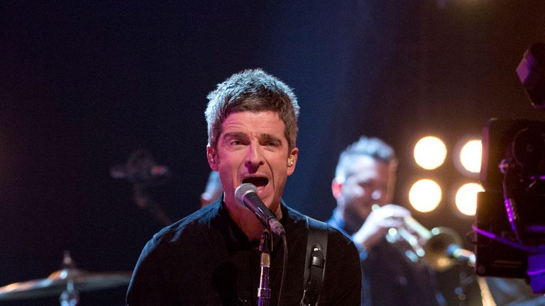Noel Gallagher's High Flying Birds are on the shortlist