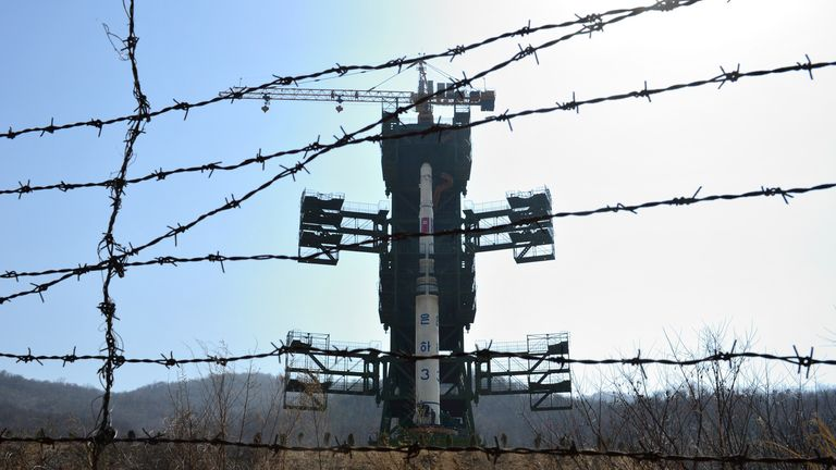 The Sohae site has been used to test missile engines