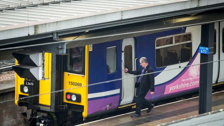 A report found businesses lost nearly £38m because of rail disruptions and up to £1.3m a day at its worst
