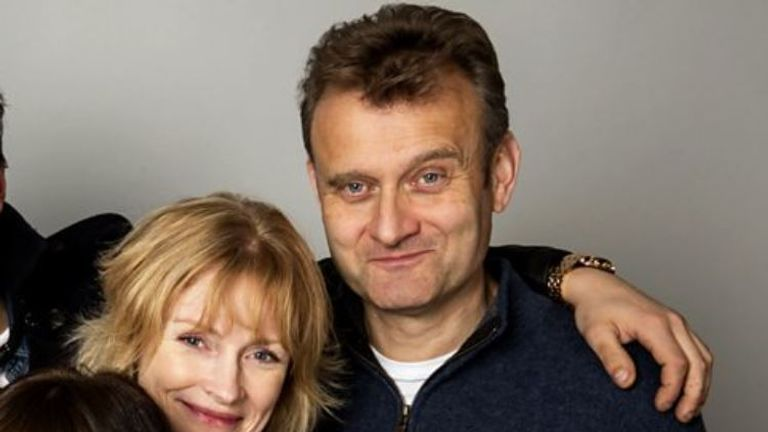 The hit sitcom revolved around Pete and Sue   Brockman and their three exuberant children. Pic: BBC