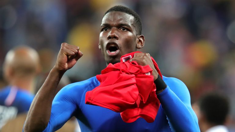 World Cup 2018  Pogba dedicates France semi-final win to Thai cave ... d60ba346b1