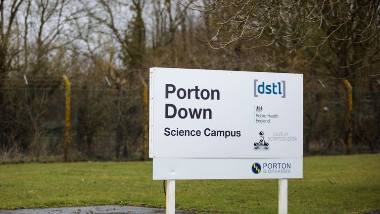 PORTON DOWN, ENGLAND - MARCH 15: A general view of Porton Down where the nerve agent used on Sergei Skripal, 66 and his daughter Yulia was identified on March 15, 2018 in Porton Down, England. British Defence Secretary Gavin Williamson has announced £48M investment in the Defence Science and Technology Laboratory in Porton Down following the nerve agent attack on Russian former spy Sergei Skripal and his daughter Yulia. (Photo by Jack Taylor/Getty Images)