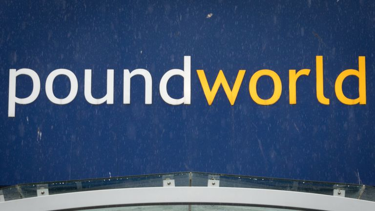 etailer Poundworld Under Pressure To Close Up To 100 Branches BRISTOL, ENGLAND - APRIL 27: The Poundworld logo is pictured on April 27, 2018 in Bristol, England. The discount retailer is looking at closing about 100 of its 355 stores, putting up to 1,500 jobs at risk as part of a restructuring insolvency process called a Company Voluntary Arrangement. The retailers woes are said to be due to falling consumer confidence, rising overheads and the weaker pound. (Photo by Matt Cardy/Getty Images)