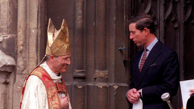 Prince Charles and Peter Ball