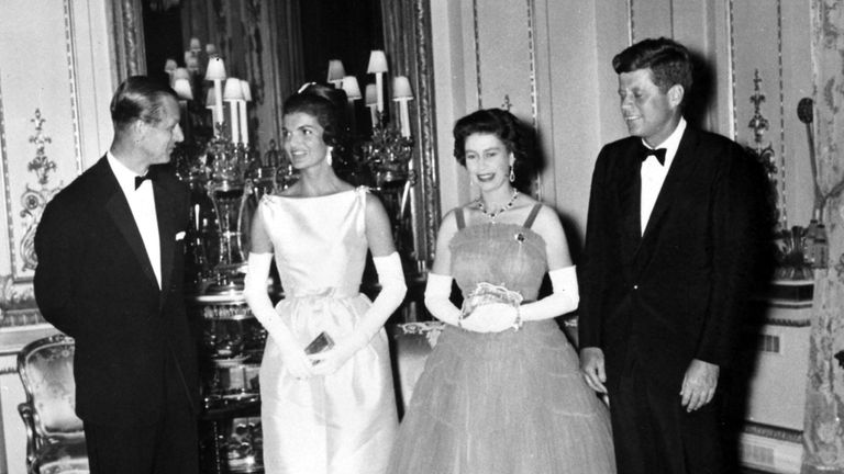The banquet for the Kennedys was dramatised in The Crown
