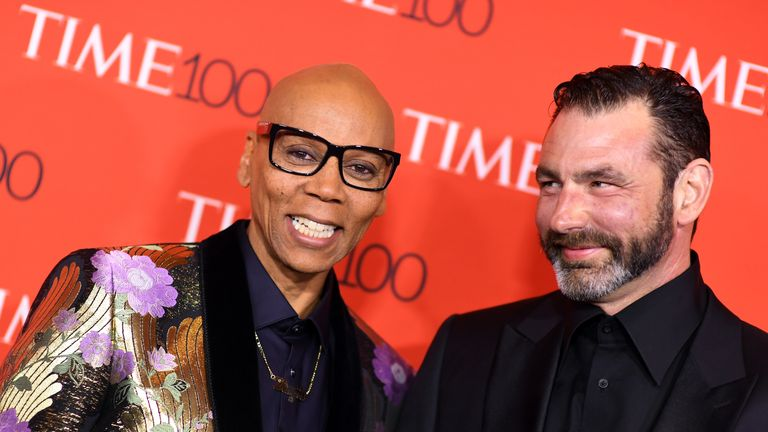 Drag queen RuPaul produces and hosts RuPaul's Drag Race, which inspired Lewis to try drag