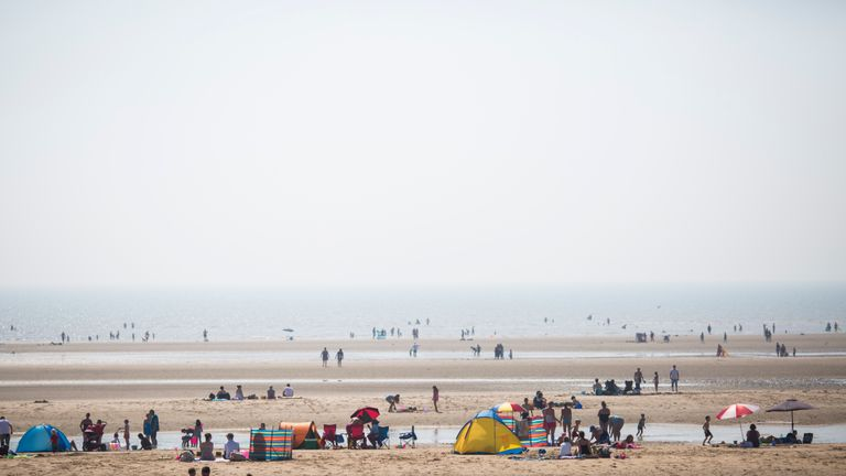 Camber Sands, Rye