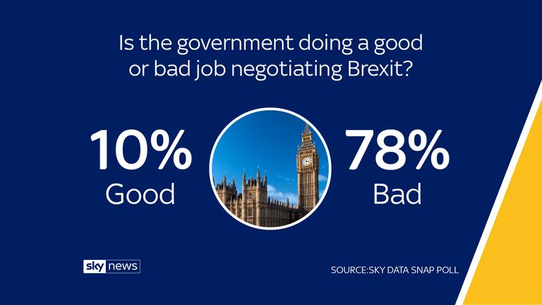 Sky Data poll on Brexit