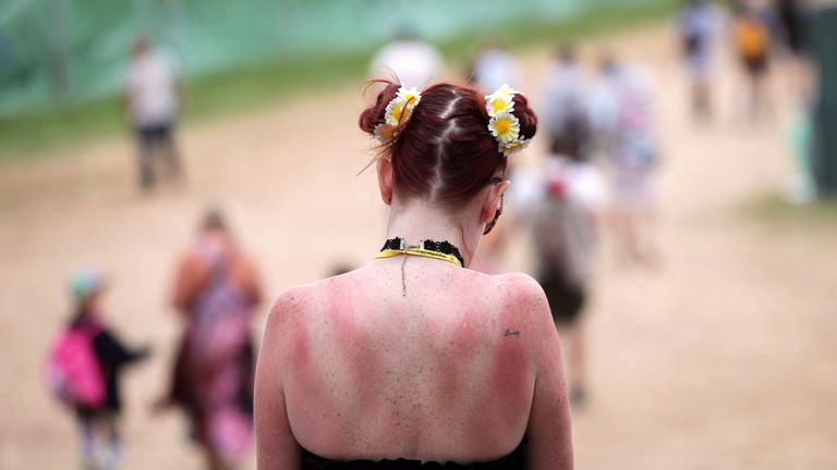 Health chiefs have issued advice during Britain's heatwave