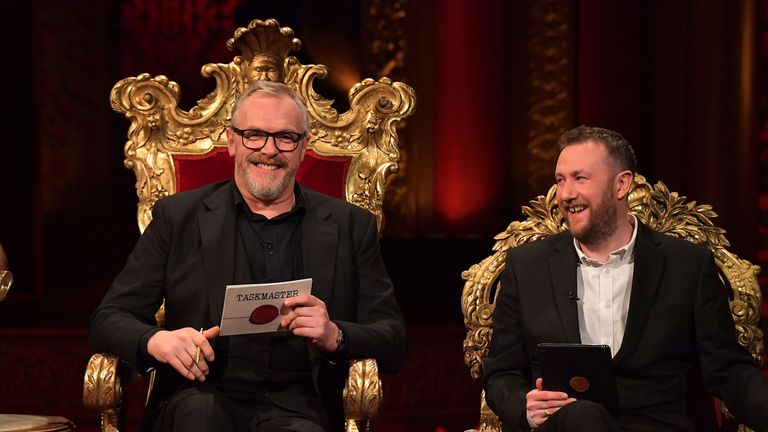 Comedy panel show Taskmaster is one of Dave's most popular shows. Pic: UKTV