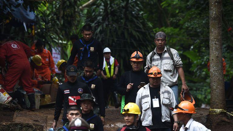 Thai cave boys 'sedated with ketamine' during rescue