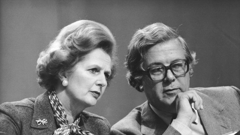 Geoffrey Howe's resignation speech was the beginning of the end for Mr Thatcher