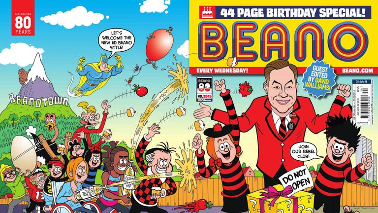 The long-running children's comic is celebrating its 80th birthday