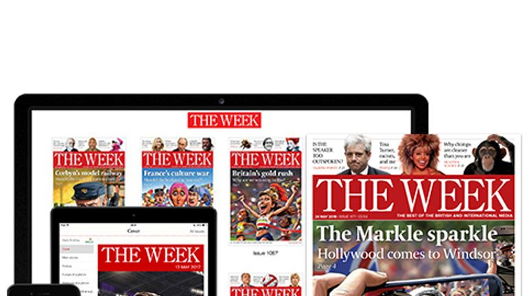 Publishers say The Week has over 350,000 readers. Pic: Dennis