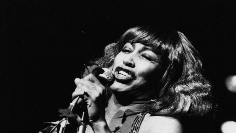 Tina Turner performed in Mr Bullimore's Bamboo Club