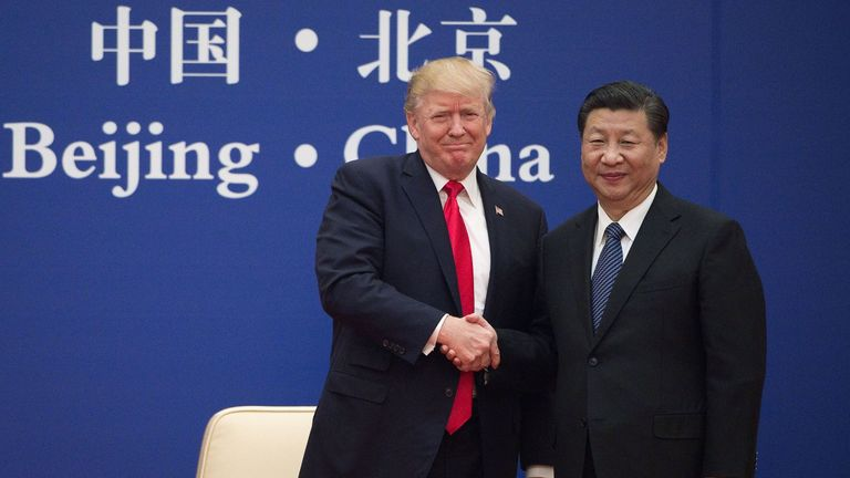 Donald Trump and Xi Jinping have appeared to have a warm relationship in the past