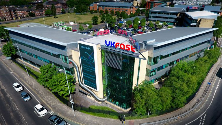 Cloud firm UKFast sees silver lining with £350m float plan
