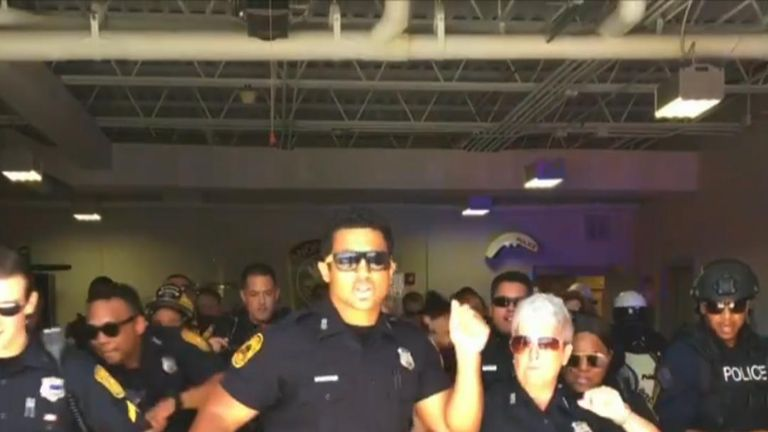 Norfolk Police Department gets funky with lipsynch video challenge