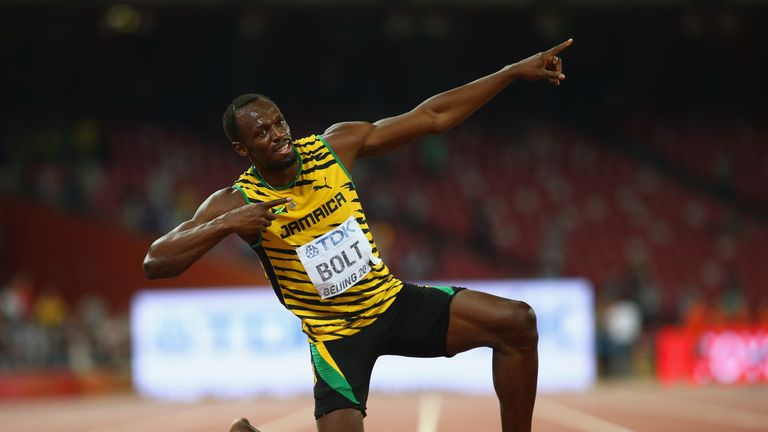 Bolt is widely considered to be the greatest sprinter of all time