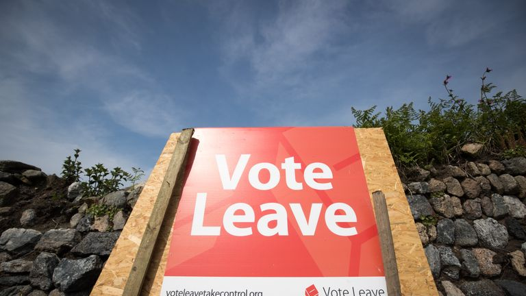 The Vote Leave campaign is accused of spending more than the rules allow