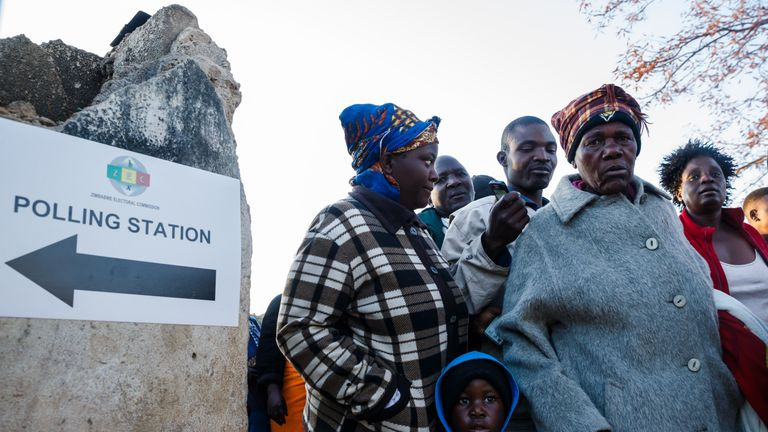 The first elections without Robert Mugabe marks an historic moment for the country