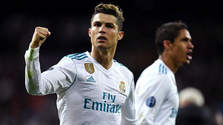 Cristiano Ronaldo celebrates as Real Madrid beat Juventus in the UEFA  Champions League e5ce20a27