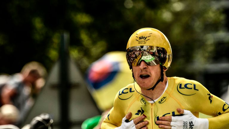 Geraint Thomas Becomes 1st Welshman to Win the Tour de France