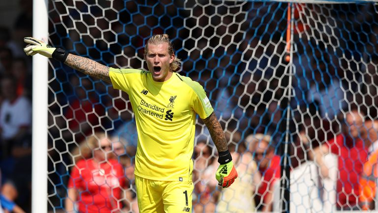 Jurgen Klopp says Loris Karius is 'a fantastic goalkeeper'