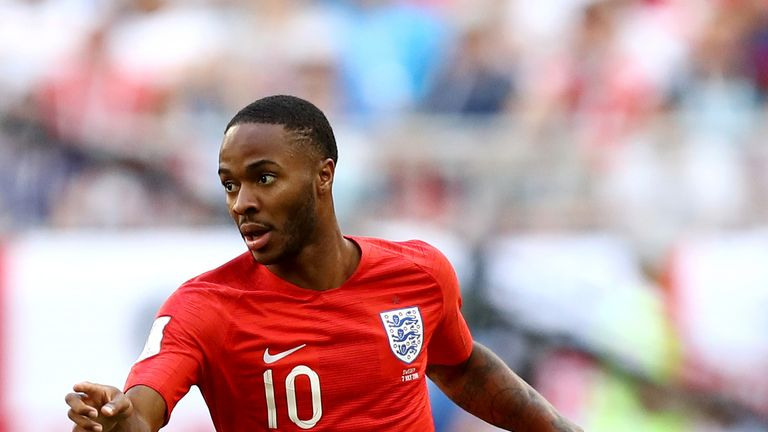 Raheem Sterling put in a brilliant performance against Sweden, says Gary Neville