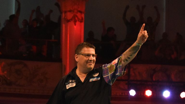 Gary Anderson Reaches Semi Finals Of The World Matchplay In