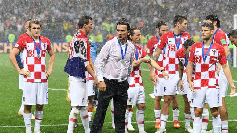 2eef0127f Croatia coach Zlatko Dalic rues  soft goals  and France penalty in World Cup  final