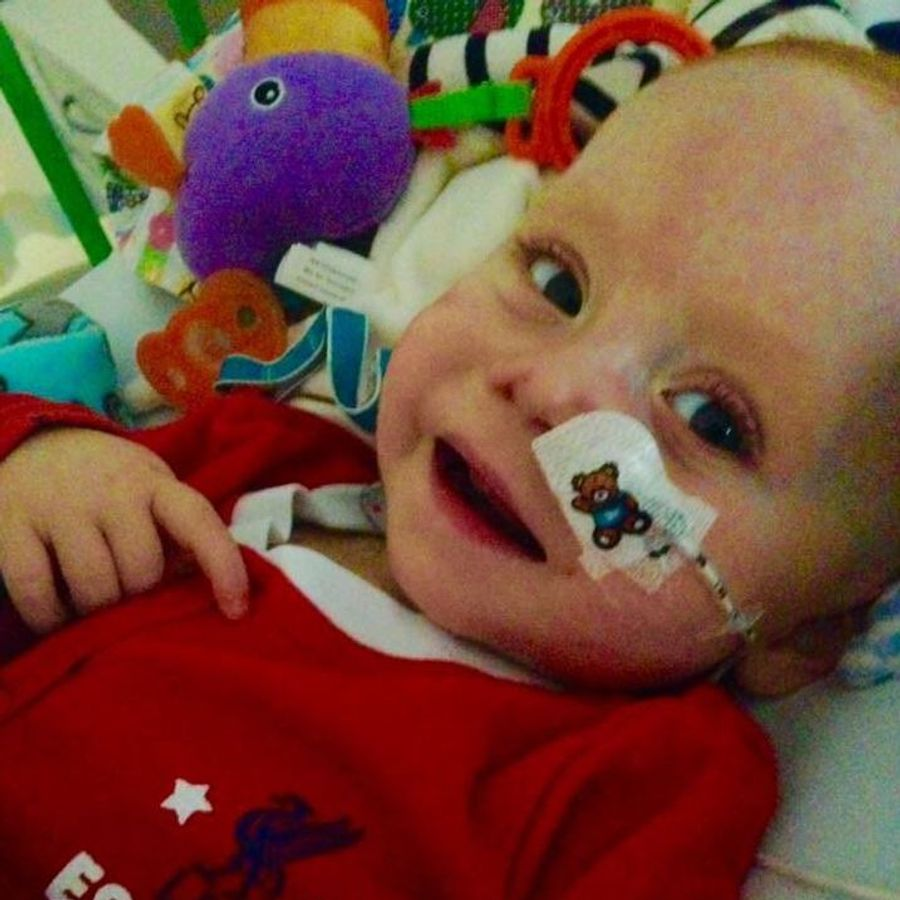 Our little boy would not be here without the #nhs . He has fought to be here, whiston, @AlderHey @AlderHeyCharity  & @gosh have all  fought with him. Thank you will never be enough #myNHSstory