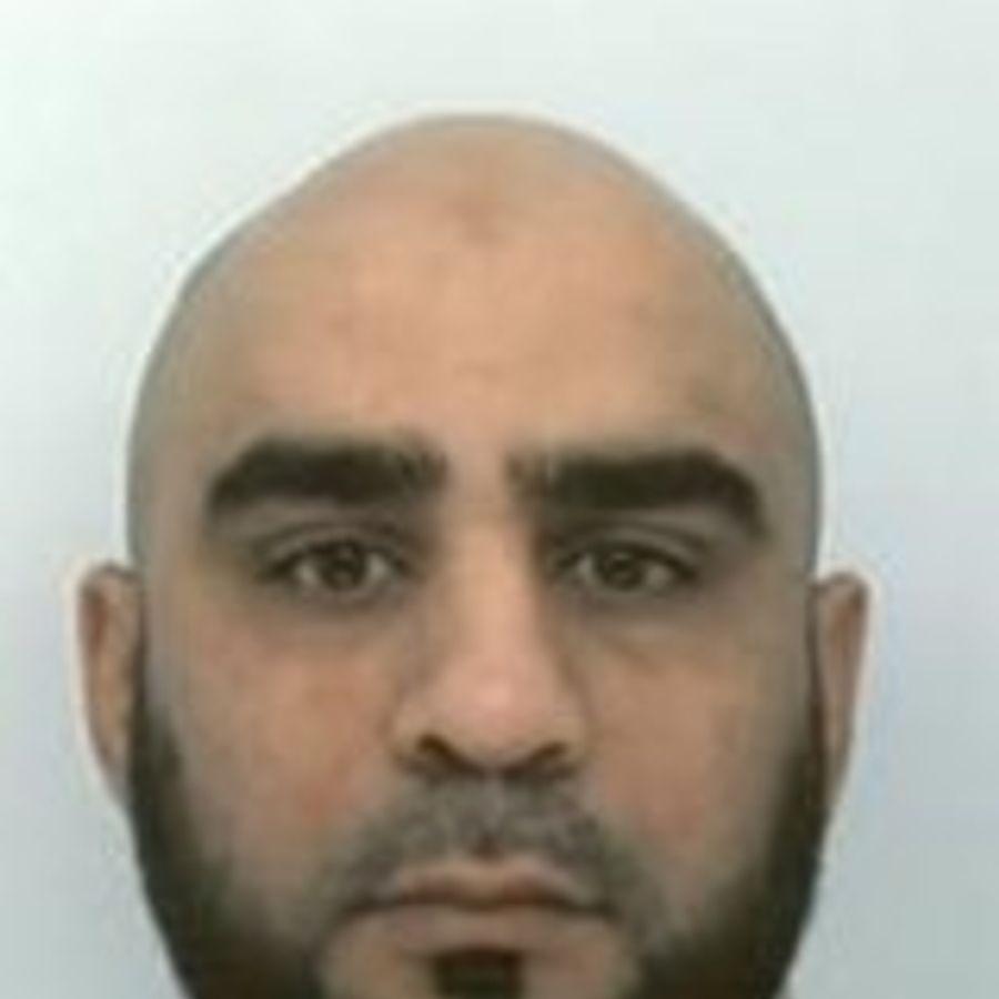 Hamid Khan. Pic: Staffordshire Police