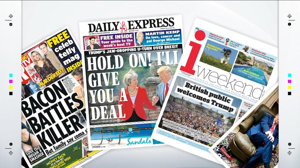 Saturday's papers with Sky News