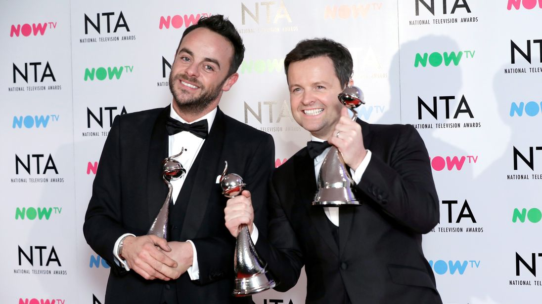 Ant McPartlin To Return To Television Tomorrow