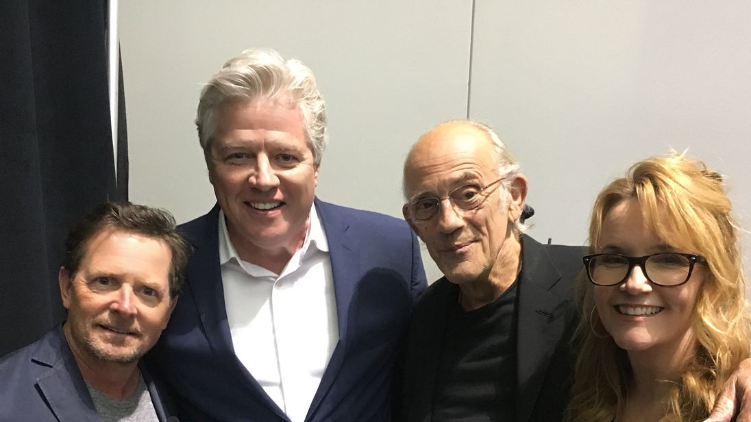Back to the Future cast gets back together for present-day reunion photo
