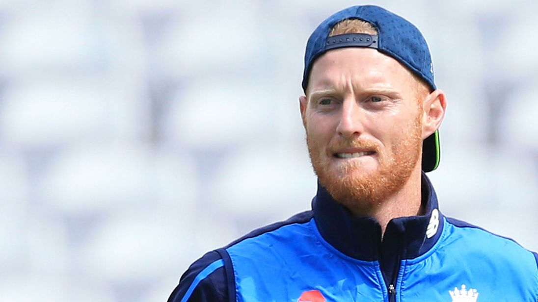 Ben Stokes in a practice session at Trent Bridge on Thursday