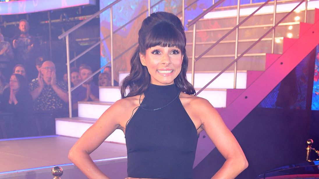 Roxanne Pallett has left the Celebrity Big Brother house