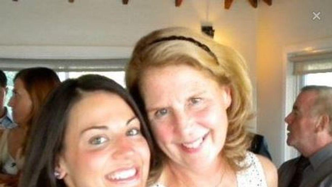 Connie Loucks (R). Pic: Facebook