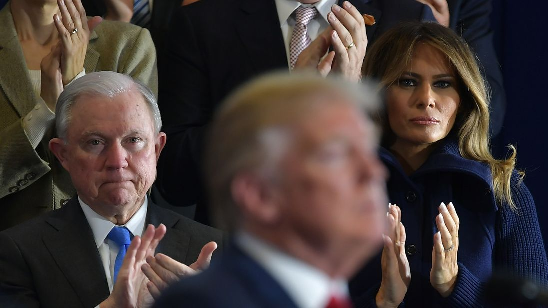 Trump calls on Sessions to end Russian Federation probe 'right now'